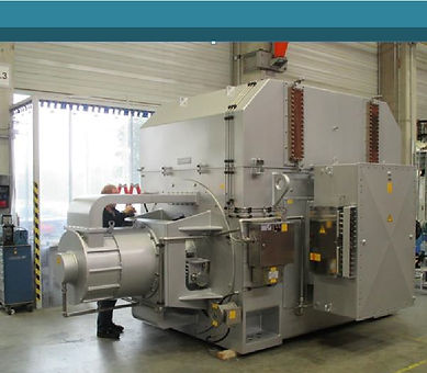 MAN THM1304-12 gas turbines, 12 MW, 50 H