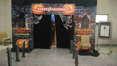 Welcome arch, Halloween theme Annual Dinner, by Wizard Entertainment, an affordable event management company/ event planner/ organizer