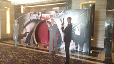 Entrance, 007 theme, MYEG Annual Dinner.