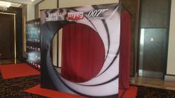 Photowall, 007 theme, MYEG Annual Dinner.