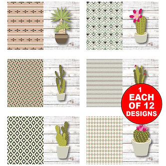 Note Card Sets - Item # NOTE059  (set of 12)