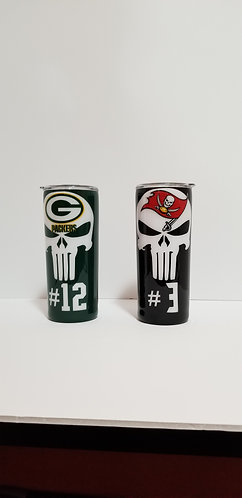 Football Team Stainless Tumbler