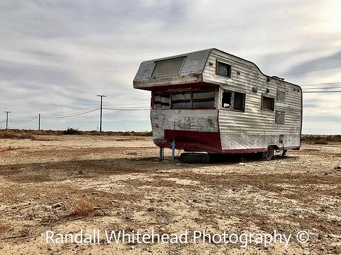 Abandoned Trailer, The Salton Sea