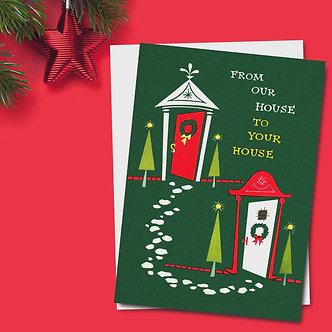 Christmas - Item #C10345 (Multi-Packs of 10 or 20 cards)