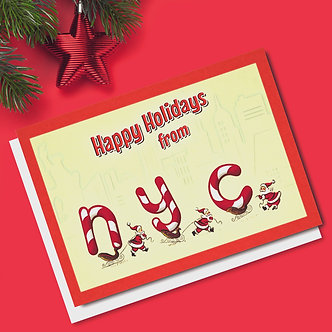 Christmas - Item #C10374 (Multi-Packs of 10 or 20 cards)