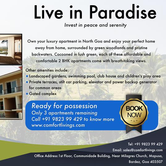 Comfort Livings Magazine Ad