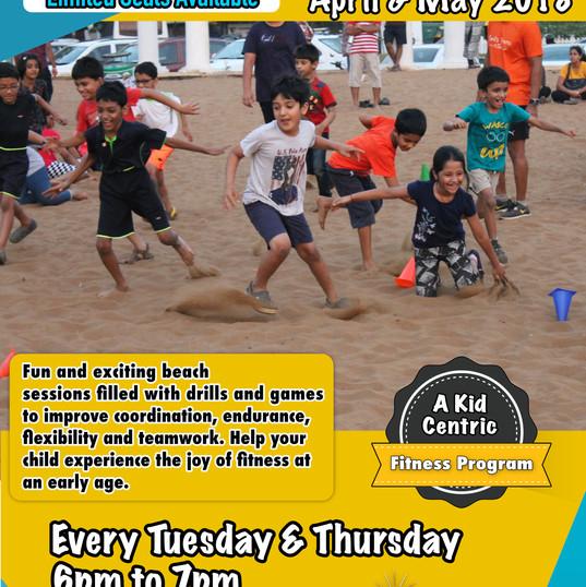 Kids fitness camp