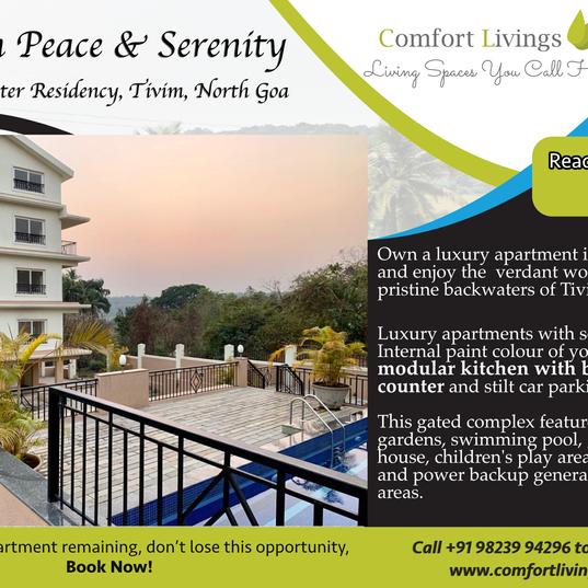 Comfort Livings FB Add Design