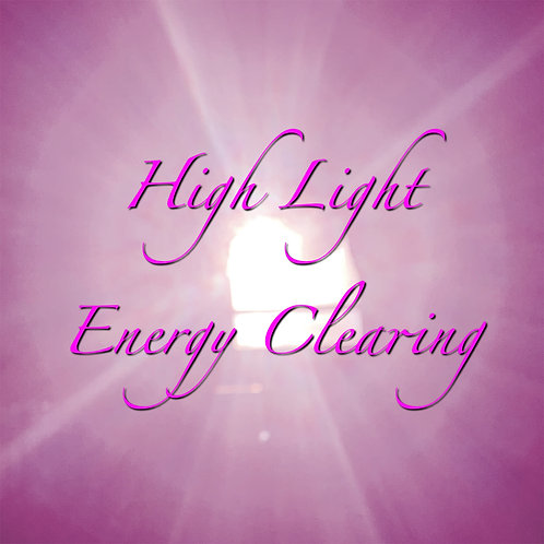 High Light Energy Clearing