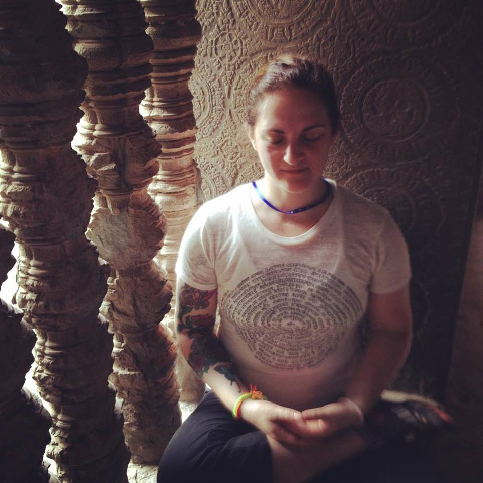 Cambodia Meditation