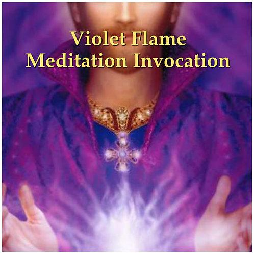 Violet Flame Meditation Invocation