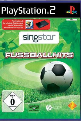 """Playstation 2 Sing Star """"Fußballhits"""""""