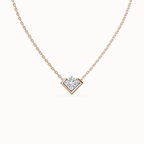 Diamond pendants, lab grown diamonds, modern ethical jewellery, STEPHANIE VAN ZWAM, Swiss made