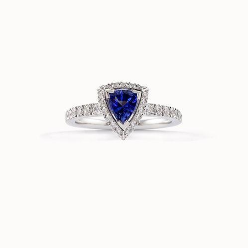 """Florence"" engagement ring, lab grown diamonds, modern ethical jewellery, STEPHANIE VAN ZWAM, Swiss made"