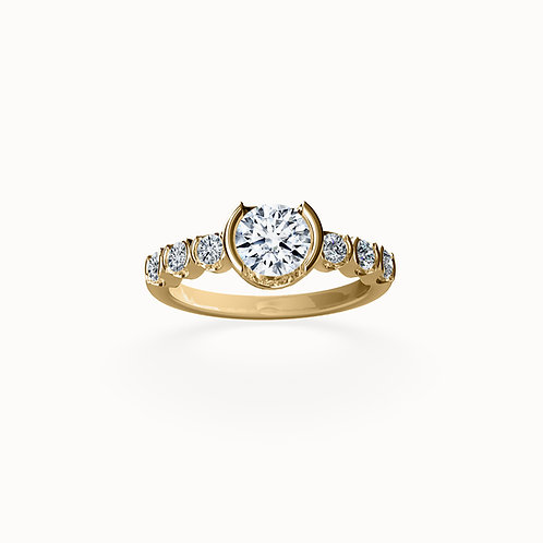 ethical diamond engagement rings, conscious responsible jewellery, lab grown diamond rings, bespoke, STEPHANIE VAN ZWAM