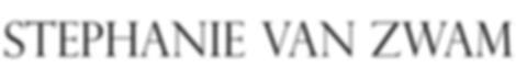 STEPHANIE VAN ZWAM Logo