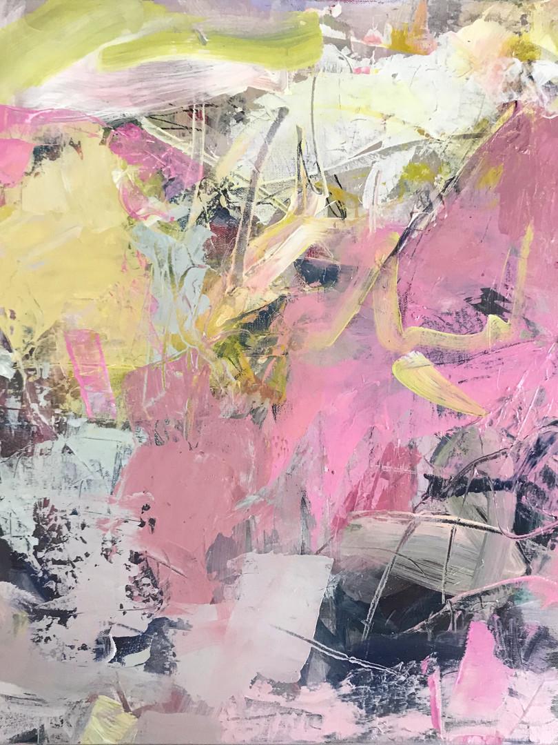 FANCY DANCE, 2018. Acrylic on canvas, 24 x 24 in.
