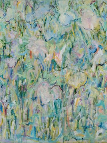 Paula Schiller. Garden Calligraphy II