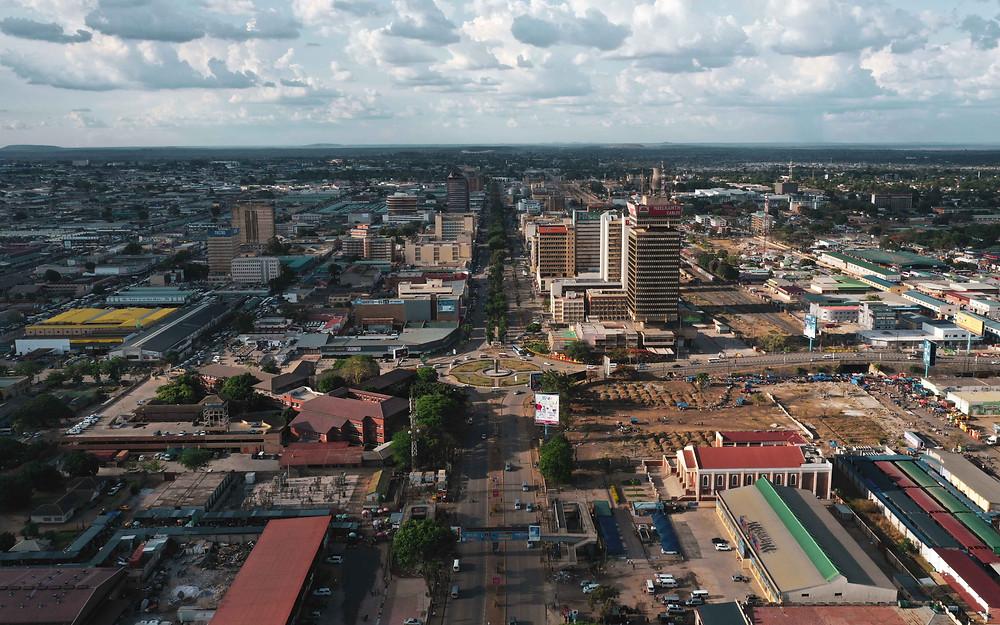 Lusaka, Zambia. Photo by Lior Sperandeo