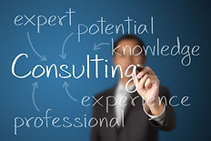 business man writing consulting concept_
