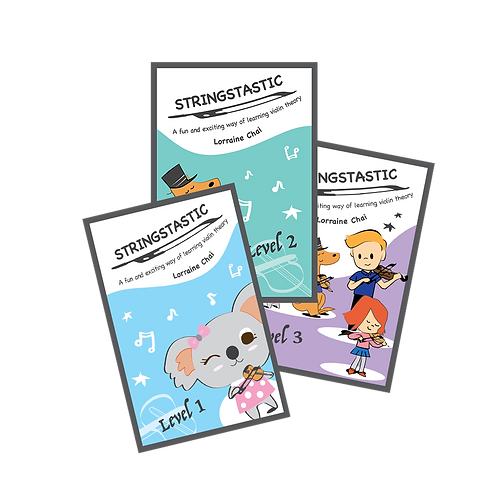 Stringstastic Full Package Deal (violin/viola/cello)