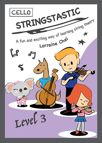 Stringstastic Level 3 - CELLO