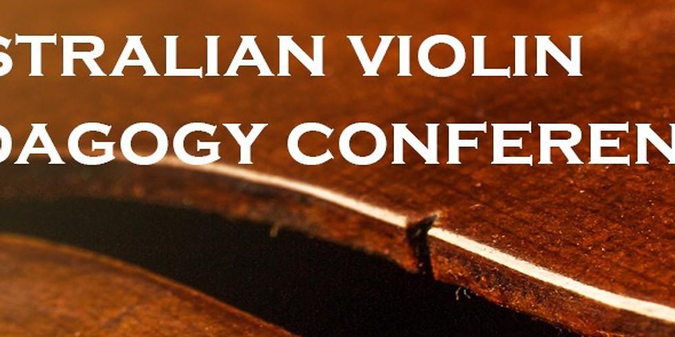 Australian Violin Pedagogy Conference