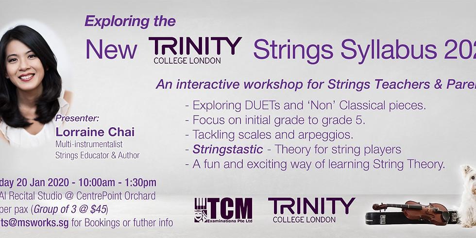 Exploring the NEW Trinity College London String Syllabus 2020