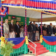 Inauguration du premier accélérateur linéaire à usage médical du Cambodge en Mars 2016
