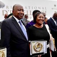 La directrice du Centre d'Oncologie Radiothérapie d'Abidjan à l'honneur