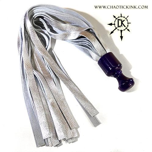 Purple & Silver Mini-Ball