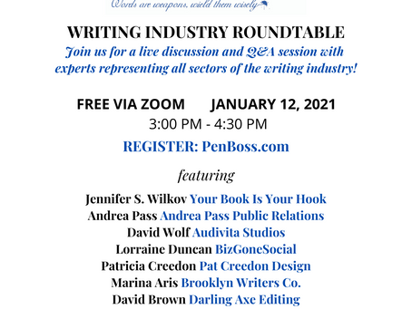 Pen for Hire Podcast: Publishing Panel