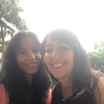 Marina Aris and Ana Benitez