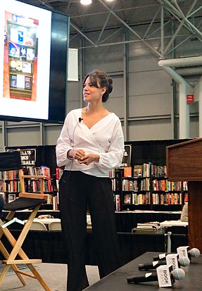 Marina Aris at BookExpo.JPG
