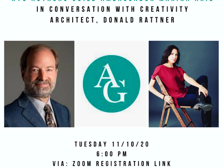 NYC Authors Guild Event: Writing Spaces with Creativity Architect Donald Rattner