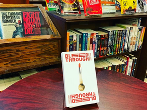 Bleed Through Book Launch at The Mysterious Bookshop