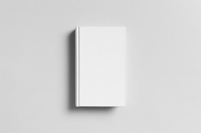 Hardcover Canvas Book Mock-Up - Front.jp