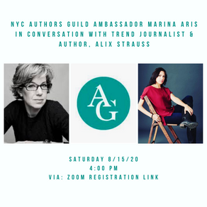 NYC Authors Guild Event: Breaking Through the Noise with Trend Journalist Alix Strauss