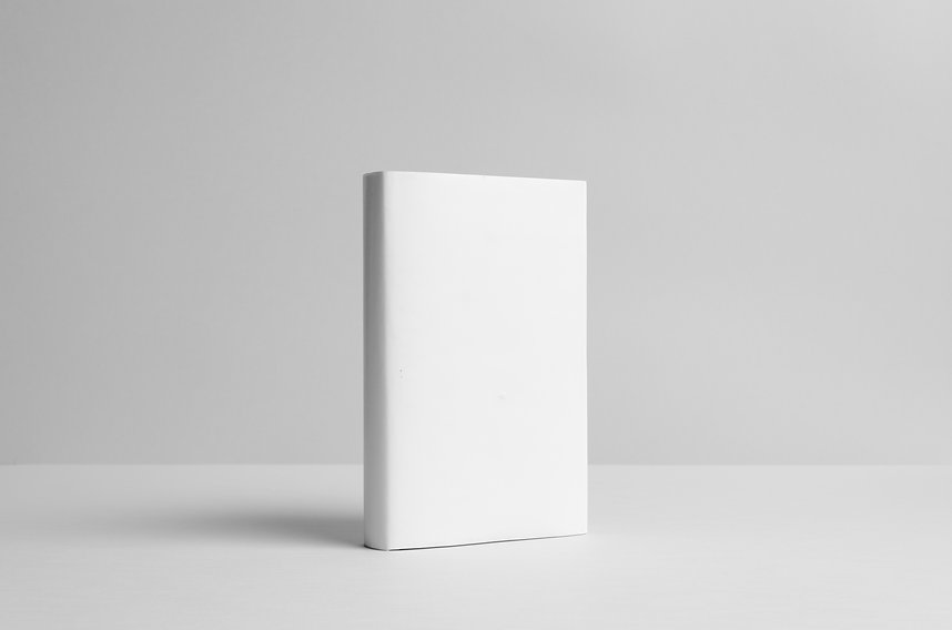 Hardcover Book Mock-Up - Dust Jacket.  W
