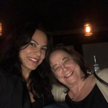 Marina Aris and Diane Fener