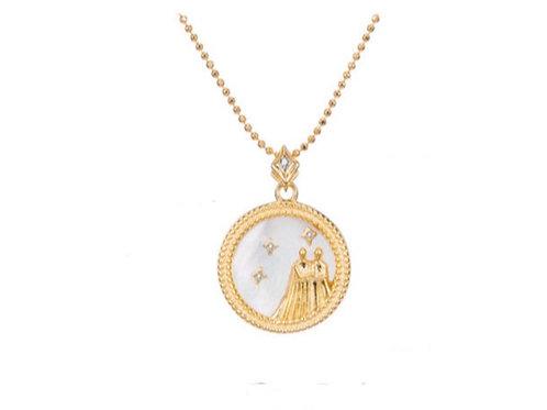 Zodiac Sign Pendant Necklaces