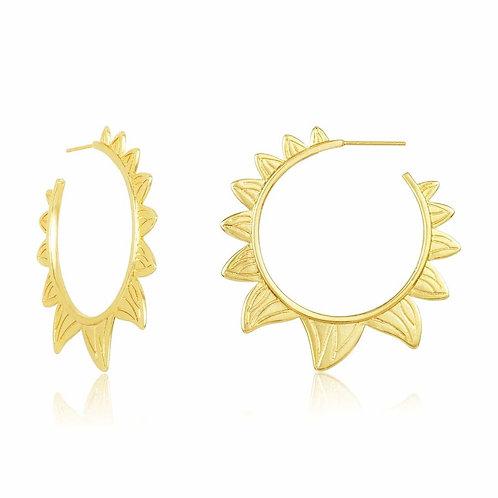 Sun Chakra Earrings