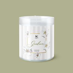 SC Candle Gardenia Label