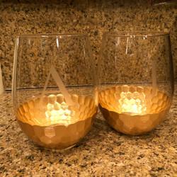 Couples Wine Glasses