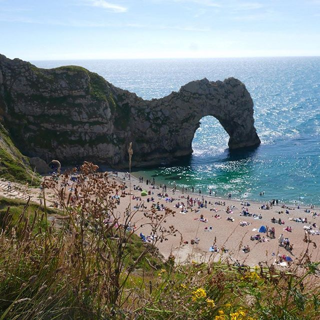 Memorable swim 😅_#durdledoor #dorset #jurassiccoast #lulworth #VacationFeels #summer2016