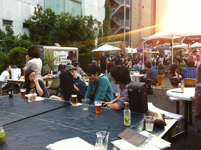 Tokyo Aoyama street food market