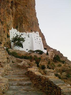 Amorgos Monastery of Hozoviotissa