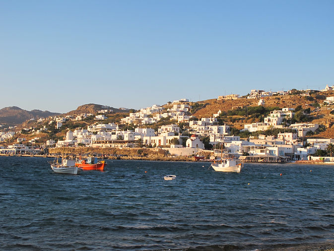 Mykonos old port