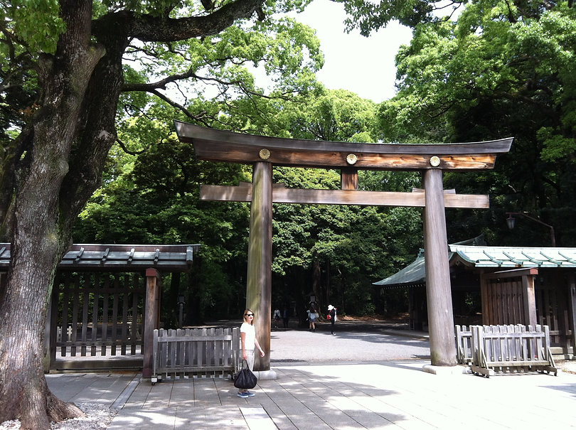 Meiji Shrine Yoyogi Park Tokyo