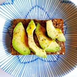 Perfect late breakfast before tonight's feast at Carousel 😊_#breakfast #avocado #smørrebrød #nottin
